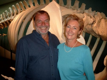Authors Andrea and Wilfried Steffen: sponsor a whale