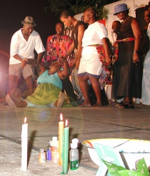 Voodoo as a tradition: ghostly show in Tobago