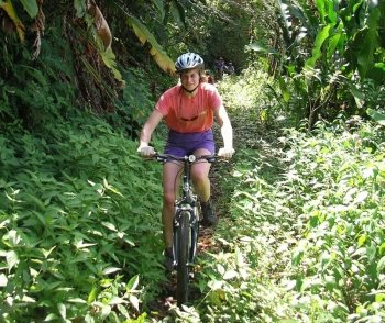 Along old Amerindian trails: mountain biking in Trinidad...
