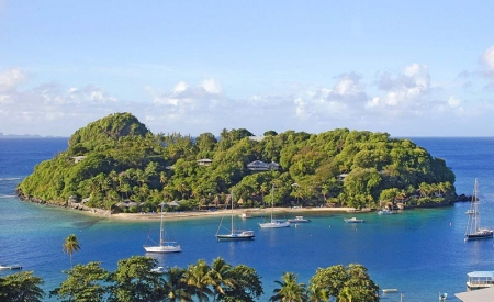 Young Island Resort, St. Vincent: private island 200 yards off the coast