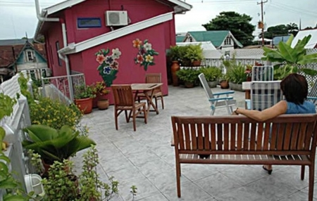 Roof terrace of the Bed and Breakfast