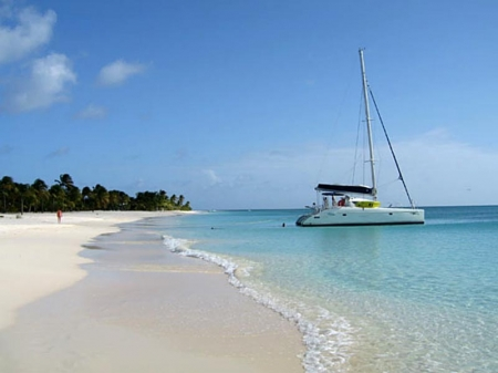 Beach in Barbuda