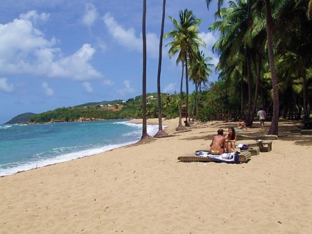 Martinique: beach on the Caravelle Peninsula