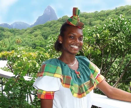 Saint Lucia: A bright smile against the background of the majestic Pitons